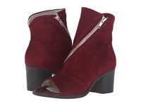 Summit White Mountain Fantasia Bordeaux Suede High Heels Burgundy