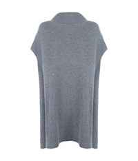 The Row Aram Cashmere Tunic Dark Grey