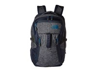 The North Face Router Urban Navy Heather Banff Blue Backpack Bags Gray