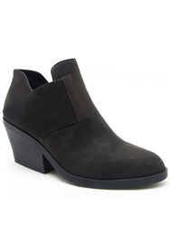 Qupid Zora Slip On Ankle Boot Black