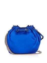 Diane Von Furstenberg Love Power Mini Bucket Bag Blue