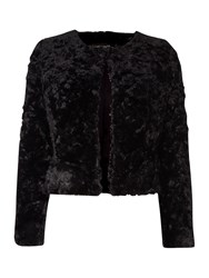 La Fee Maraboutee Bi Fabric Jacket Black