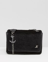Fiorelli Anne Bonny Mini Flapover Bag Black