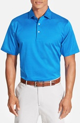 Peter Millar Microdot Three Button Polo Reflection