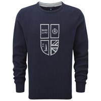 Henri Lloyd Crew Neck Knit Jumper Navy