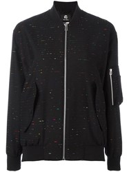 Paul Smith Ps By Arm Pocket Bomber Jacket Black