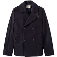 Folk Db Overcoat Blue