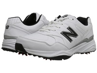 New Balance Golf Nbg1701 White Black Men's Golf Shoes