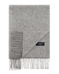 Bloomingdale's The Mens Store At Bloomingdales Cashmere Solid Scarf Light Grey