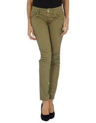 Nolita De Nimes Trousers Casual Trousers Women Military Green