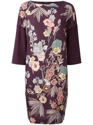I'm Isola Marras Floral Print Dress Pink Purple