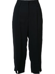 Maiyet Cropped Trousers Black