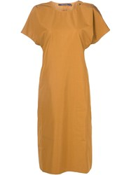 Sofie D'hoore Shift Dress Yellow And Orange