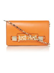 Just Cavalli Orange Cross Body Bag Orange