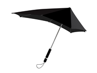 Senz Original Umbrella In Pure Black Blackbird
