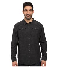 Prana Rollin Shirt Black Men's Short Sleeve Button Up