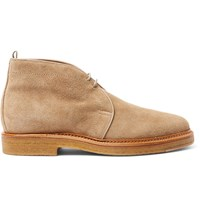Officine Creative Harvard Suede Desert Boots Neutrals