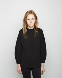 3.1 Phillip Lim Raglan Mockneck Sweater Black