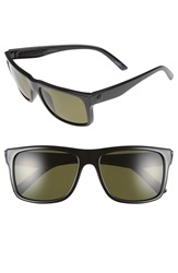 Electric Eyewear 'Swingarm' 57Mm Polarized Sunglasses Gloss Black Melanin Grey