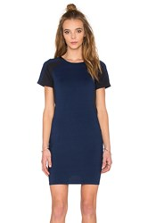 G Star Raglan Short Sleeve Dress Blue