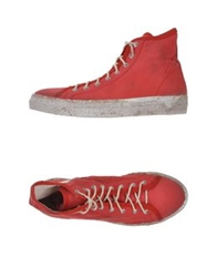 Cycle High Tops And Trainers Red