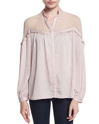 Nanette Lepore Long Sleeve Peasant Blouse