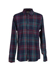 Altamont Shirts Shirts Men Dark Blue