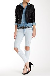 Siwy Hannah Low Rise Cropped Skinny Jean Blue