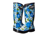 Bogs Spring Flowers Rain Boot Navy Multi Women's Rain Boots Blue