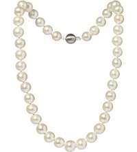 Annoushka Classic 10Mm Pearl And 18Ct White Gold Necklace