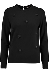 Raoul Embellished Knitted Sweater Black