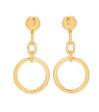 Marni Clip On Earrings Gold