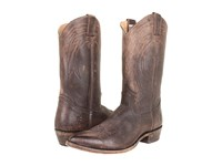 Frye Billy Pull On Dark Brown Stone Antiqued Cowboy Boots