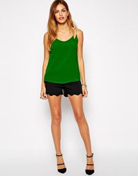 Ax Paris Scalloped Edge Shorts Black