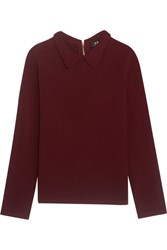 A.P.C. Atelier De Production Et De Creation Mireille Wool Sweater Claret