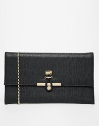 Warehouse Loop Fix Clutch Bag Black