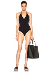 Marysia Swim Broadway Maillot Swimsuit In Black