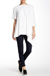 Planet Flounce Tunic White