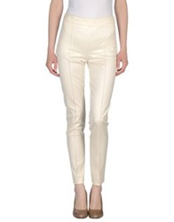 Moschino Couture Casual Pants Ivory