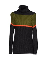 Kai Aakmann Turtlenecks Steel Grey