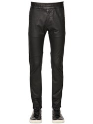 Diesel Black Gold Stretch Nappa Leather Pants