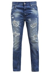 Replay Gracelly Relaxed Fit Jeans Darkblue Denim Dark Blue