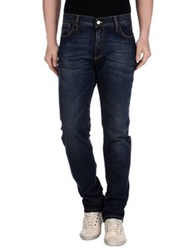 Shaft Denim Pants Blue