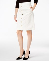 Charter Club Button Front Corduroy Skirt Only At Macy's Cloud