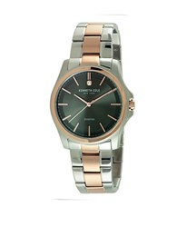 Kenneth Cole Diamond Accented Two Tone Stainless Steel Bracelet Watch 10027880