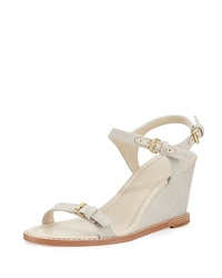 Portofino Capri Wedge Sandal Natural Bettye Muller