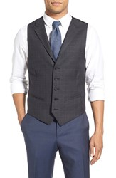 Nordstrom Men's Men's Shop Plaid Wool Vest