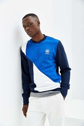 Reebok Retro Crew Neck Fleece Sweatshirt Navy