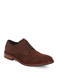 Cole Haan Williams Suede Oxfords Chestnut