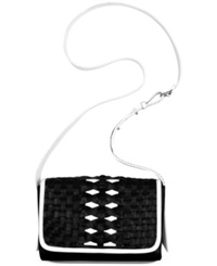 Cole Haan Hurrache Convertible Clutch Black Ivory